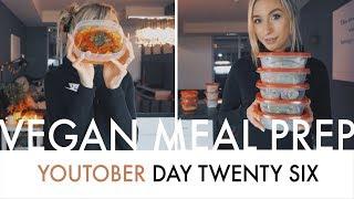 Download VEGAN MEAL PREP | Dinner + Lunch Video
