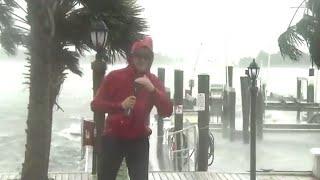 Download Hurricane Florence starts lashing North Carolina coast Video