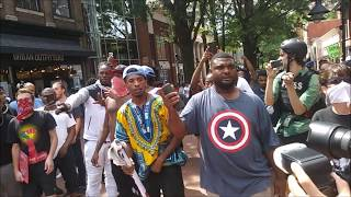 Download #BLM Talks MAD SMACK To Riot Cops @ #Charlottesville #UniteTheRight Video