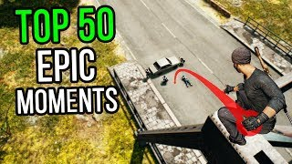 Download TOP 50 EPIC MOMENTS IN PUBG Video
