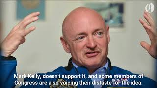 Download Astronaut Mark Kelly slams Trump's new space force Video