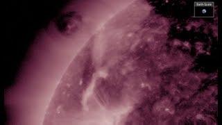 Download Incredible Plasma Dance/Coronal Cavity | S0 News Aug.17.2017 Video