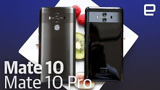 Download Huawei Mate 10 and Mate 10 Pro hands-on Video