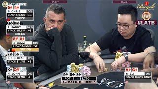 Download CRAZY ACTION in Deep Stack Ante Game ♠ Live at the Bike! Video
