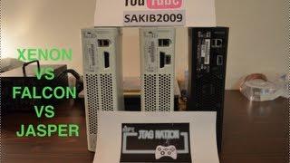 Download Comparison of XENON, FALCON & JASPER + JTAG VS RGH by JTAGNATION Video