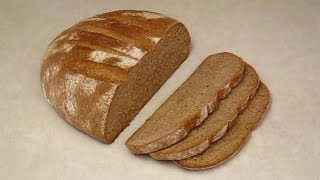 Download How to Make Whole Wheat Bread at Home. Hand Made. Easy with Basic Kitchen Utensils. Video