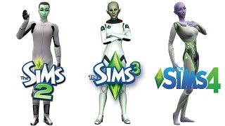 Download ♦ Sims 2 vs Sims 3 vs Sims 4: Aliens Video