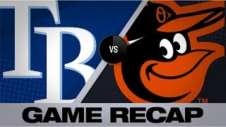 Download Rays crush 6 homers in Game 2 victory | Rays-Orioles Game 2 Highlights 7/13/19 Video