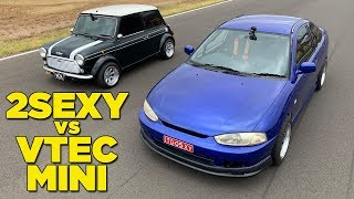 Download 2SEXY VS VTEC MINI (and a NEW CHALLENGER!!) Video