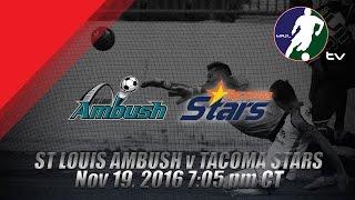 Download St. Louis Ambush vs Tacoma Stars Video