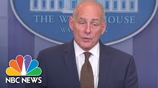 Download White House Chief Of Staff Gen. John Kelly: 'I'm Not Quitting Today' | NBC News Video