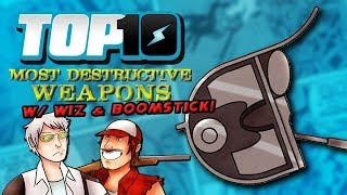 Download Top 10 Most Destructive Weapons w/ Wiz & Boomstick Video