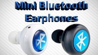 Download Mini Bluetooth Ear Phones Music and Phone Calls Video