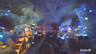 Download [4K Nighttime] Disney Coaster - Seven Dwarfs Mine Train Coaster Ride - Magic Kingdom Video