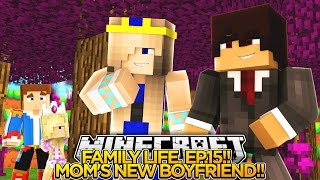 Download Minecraft FAMILY LIFE (EP.15) - LITTLE DONNY'S MOM HAS A NEW BOYFRIEND!!! Video