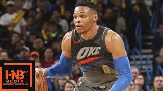 Download Oklahoma City Thunder vs New Orleans Pelicans Full Game Highlights / Feb 2 / 2017-18 NBA Season Video