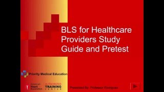 Download BLS study guide and pretest Video