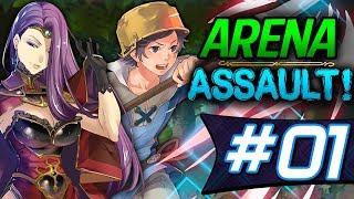 Download Fire Emblem Heroes: Arena ASSAULT #1 - C'mon Donny! [4932 Score Deathless run, No Items] Video