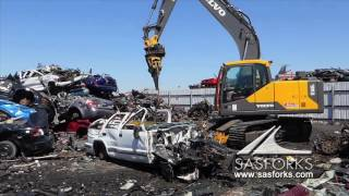 Download Destroy Car & Recycle with SAS Extreme Auto Processor Volvo EC160EL desmantelador de automóviles Video