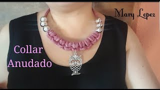 Download Collar rosa anudado Video