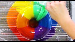 Download AMAZING RAINBOW CAKES & DESSERTS - Satisfying Rainbow Recipe Compilation - YouTube Video