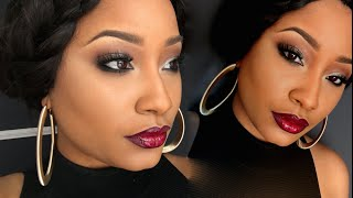 Download GRWM Easy Smokey Eye & Cranberry Lips | Jaz Jackson Video