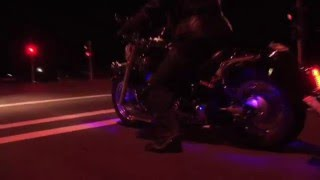 Download V-Star 650 2008 with Vance Hines & Kuryakyn Hypercharger & Blue LEDs Video
