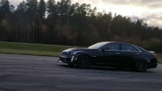 Download Cadillac CTS-V vs BMW M6 Coupe V10 (ECU and exhaust) Video
