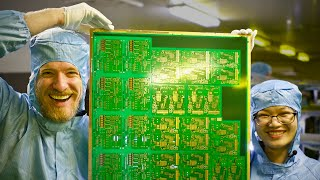 Download Inside a Huge PCB Factory - in China Video