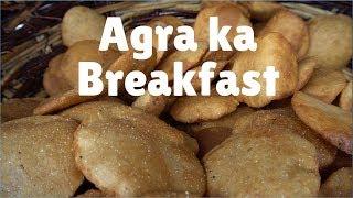Download 5 good Breakfast places in Agra | India: Bedhai puri, kachori & Jalebi Video