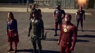 Download Arrowverse Crossover VS Dominators - Full Battle Video