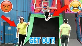 Download KICKED OUT OF A TRAMPOLINE PARK! Video