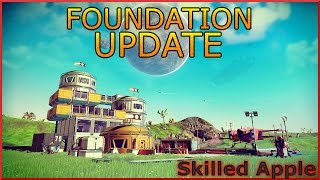 Download No Mans Sky! FOUNDATION BASE BUILDING NEW SURVIVAL MODE Gameplay PS4 FINISHING BASE   Markiplier Video
