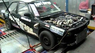 Download DYNO BMW E30 325 ix turbo Autronic-SM4 borg warner-s380 2bar 833.2PS 937.6Nm (DriverBMW) 1 Video