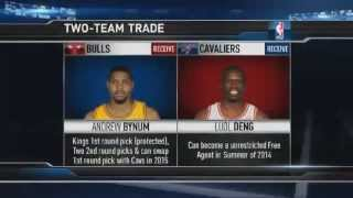 Download Luol Deng Traded To Cleveland Cavaliers Video