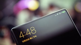 Download The Xiaomi Mi Mix phone is almost all screen Video