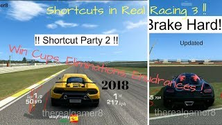 Download All Shortcuts and Tricks in Real Racing 3- 2018 Updated Video