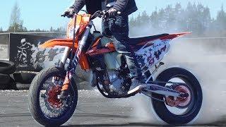 Download KTM EXC 450 Supermoto Arttu Stenberg Video