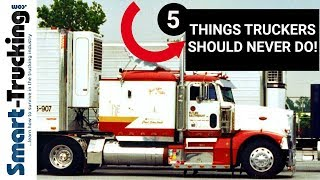 Download 5 THINGS TRUCK DRIVERS SHOULD NEVER DO! Video