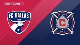 Download HIGHLIGHTS: FC Dallas vs. Chicago Fire | July 14, 2018 Video