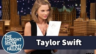 Download Taylor Swift and Jimmy Draw Each Other Without Looking Video