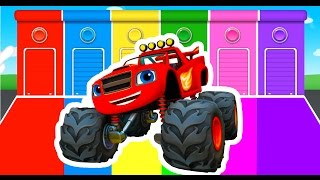 Download Learning Colors with Monster Truck Color Vehicles for Kids Toddlers - Learn Colours for Children Video