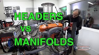 Download Headers vs Manifolds - 426 Wedge on the Dyno! Video