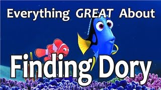 Download Everything GREAT About Finding Dory! Video