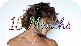 Download Hair Growth Time Lapse - 1 Year & 3 Months Video