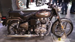 Download 2018 Royal Enfield Bullet - Walkaround - 2017 EICMA Milan Motorcycle Exhibition Video