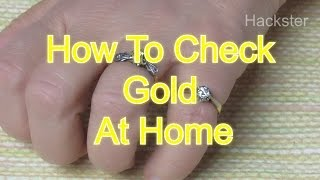 Download Life Hack - How To Check Gold At Home In Easy Ways Video