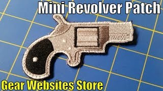 Download Mini Revolver Patch - Gear Websites Store - Mini Revolver Design, small revolver velcro patch Video