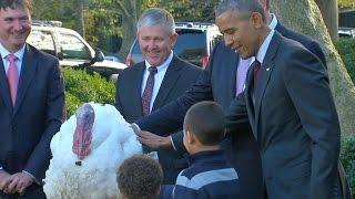 Download Watch: President Obama's final turkey pardon Video