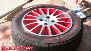 Download Easy Way To Customize Wheels with Spray Paint - 2 Tone Finish on Civic Stock Wheels Video